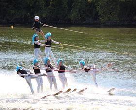 Mulwala Water Ski Club Logo and Images