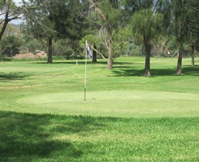 Wiradjuri Golf Centre Logo and Images