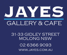 Jayes Gallery and Cafe Logo and Images