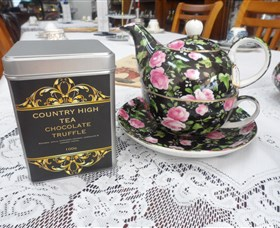 Country High Tea Logo and Images