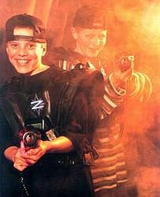 Laser Zone Wagga Logo and Images