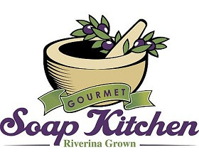 Gourmet Soap Kitchen Logo and Images