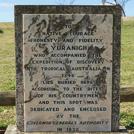 Yuranighs Aboriginal Grave Historic Site Logo and Images