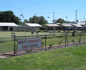 Henty Community Club Logo and Images