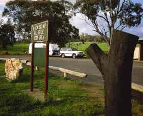 Black Stump Rest Area Logo and Images