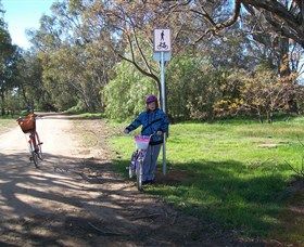 Culcairn Bike Track Logo and Images