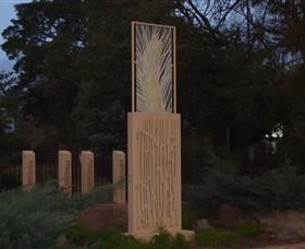 Milestones Sculptures in Cootamundra Logo and Images