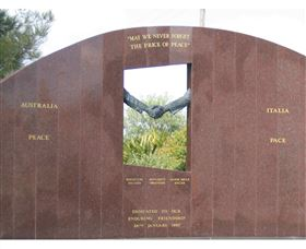 Cowra Italy Friendship Monument Logo and Images