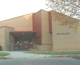 Cowra Regional Art Gallery Logo and Images
