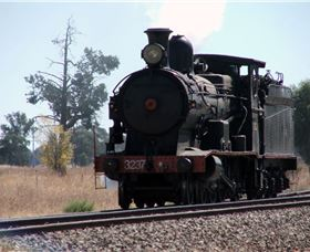 Lachlan Valley Railway Logo and Images