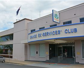 Orange Ex-Services Club Logo and Images