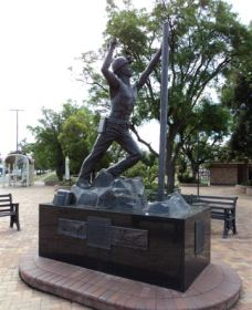 Miners Memorial Statue Logo and Images