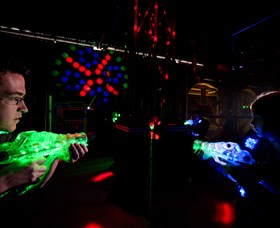 Zone Laser Tag Albury Logo and Images