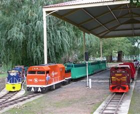 Holbrook Miniature Railway Logo and Images