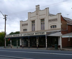 National Museum of Australian Pottery Logo and Images