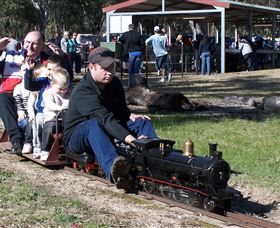 Mudgee Miniature Railway Logo and Images