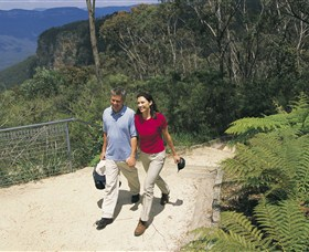Blue Mountains Walking Tracks Logo and Images