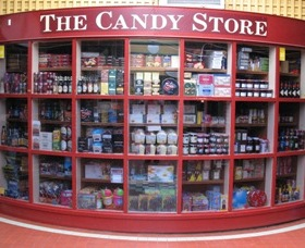 Leura Candy Store Logo and Images