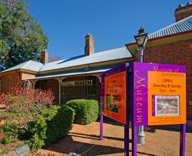 Queanbeyan Museum Logo and Images