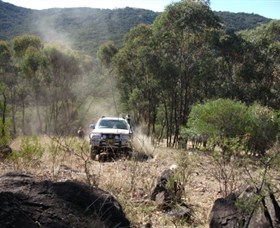 Geraldine 4WD Recreation Park Logo and Images