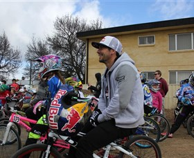 Goulburn BMX Park Logo and Images