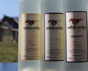 Wildbrumby Schnapps Distillery Logo and Images