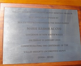 Valley Heights Locomotive Depot Heritage Museum Logo and Images
