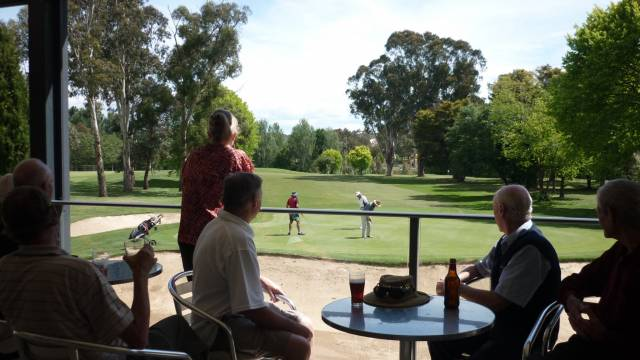 Queanbeyan Golf Club Logo and Images
