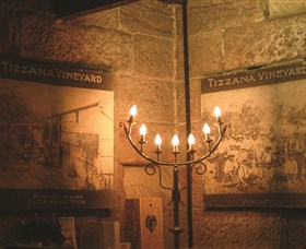 Tizzana Winery Logo and Images