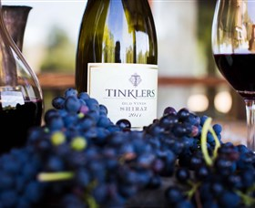 Tinklers Wines and Farm Produce Logo and Images