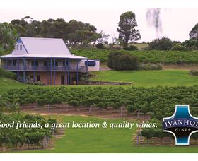 Ivanhoe Wines Logo and Images