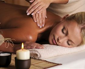 Allymac Massage Therapy Logo and Images