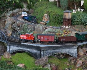 All Aboard Braemar Model Railways Logo and Images