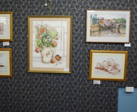 Monaro Art Groups Little Gallery Logo and Images