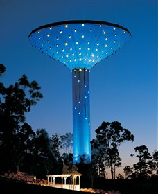 Wineglass Water Tower Logo and Images