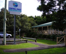 Central Coast Marine Discovery Centre Logo and Images