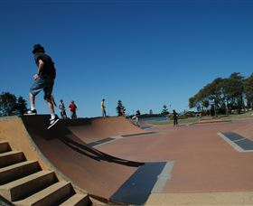 The Entrance Skate Park Logo and Images