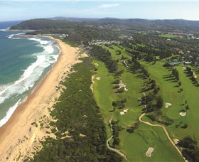 Shelly Beach Golf Club Logo and Images