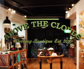 Above the Clouds Store Logo and Images