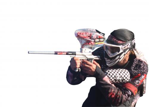Elite 1 Paintball Logo and Images