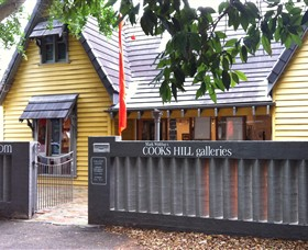 Cooks Hill Galleries Logo and Images