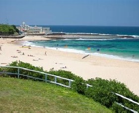 Newcastle Beach Logo and Images