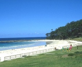 Mollymook Beach Logo and Images