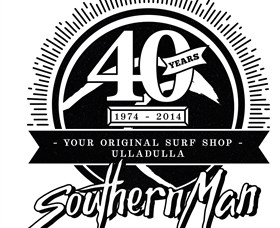 Southern Man Ulladulla Surf Shop Logo and Images