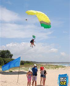 Skydive Oz: Batemans Bay Logo and Images