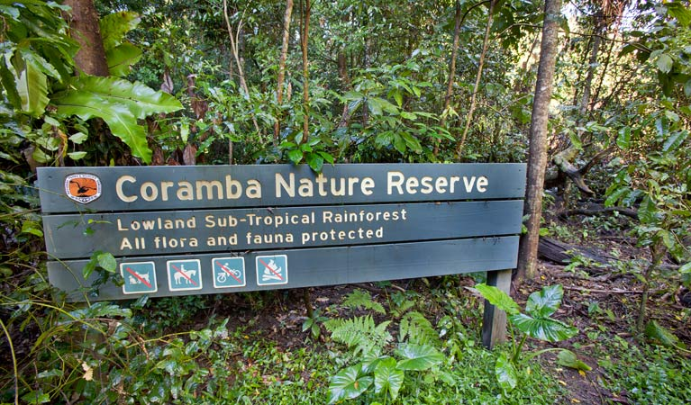 Coramba Nature Reserve Logo and Images