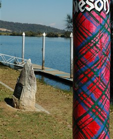 Maclean Tartan Power Poles Logo and Images