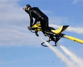 Jetpack Flyboard Adventures Logo and Images