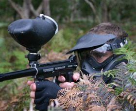 Tactical Paintball Games Logo and Images