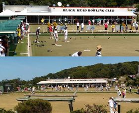 Black Head Bowling Club Logo and Images